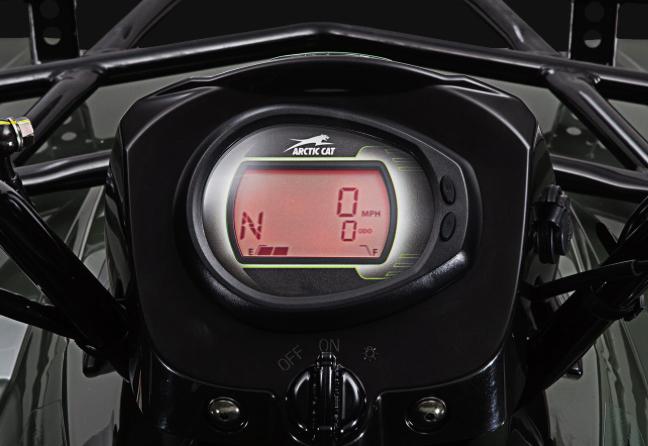 skaitmeninis keturračio speedometras