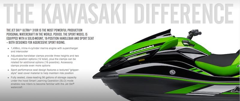 greiciausias vandens motociklas