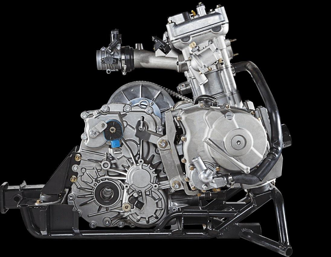 600 arctic cat keturračio variklis
